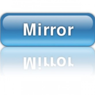 Web 2.0 button with reflection
